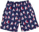 Jo-Jo JoJo Maman Bebe No Diaper Bermuda Shorts (Toddler/Kid) - Boat-5-6