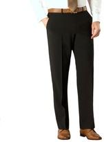 Karl Jackson Black Bengaline Washable Suit Trouser