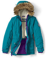 Classic Little Girls Expedition Parka-Vibrant Zest