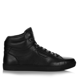 Dolce & Gabbana London high-top leather trainers