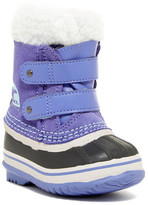 Sorel 1964 Pac Strap Faux Shearling Lined Boot - Waterproof (Toddler)