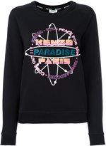 Kenzo Paradise sweatshirt - women - Cotton/Polyester/Metallic Fibre - XS