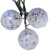 Kurt Adler 10-Light Lace Ball LED String Lights