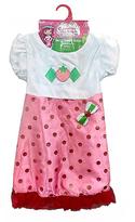 Crayola Strawberry Shortcake Dress & Hair Bow - Girls