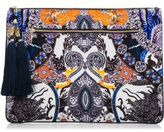 Camilla Heart Of Hong Large Canvas Clutch
