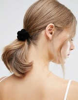 Asos Flower Pom Hair Tie
