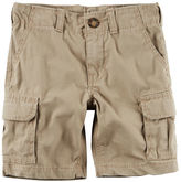 Carter's Pull-On Khaki Cargo Shorts