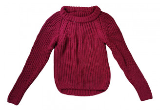 Hermes Purple Cotton Knitwear