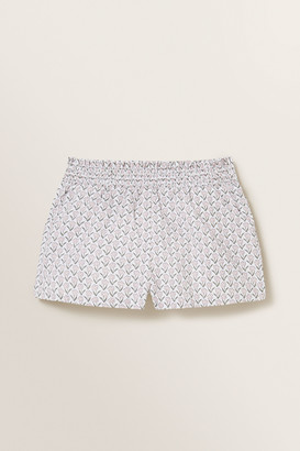 Seed Heritage Floral Shirred Shorts