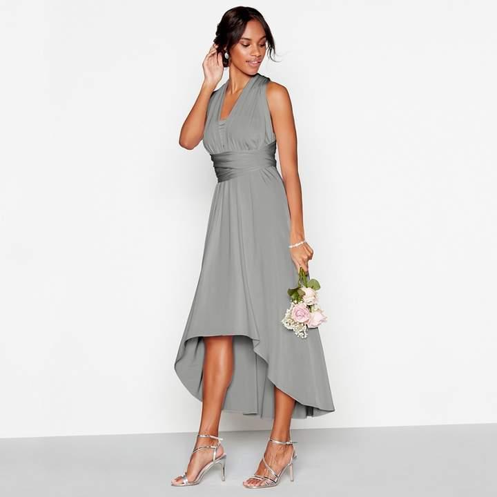 Debut - Dark Grey Multiway High Low Dress