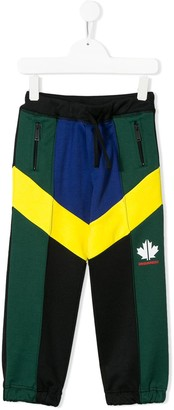 DSQUARED2 Colour-Block Track Pants