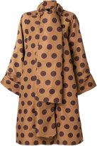 Loewe dot dress coat