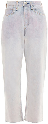 Rag & Bone Faded High-rise Straight-leg Jeans