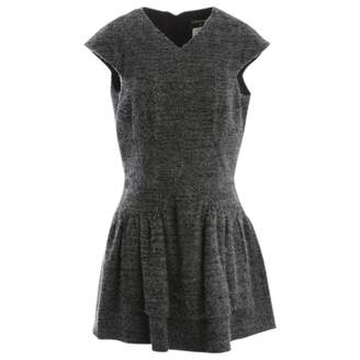 Chanel Grey Cashmere Dresses