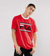 Fila Black Line Mesh T-Shirt With Large Logo