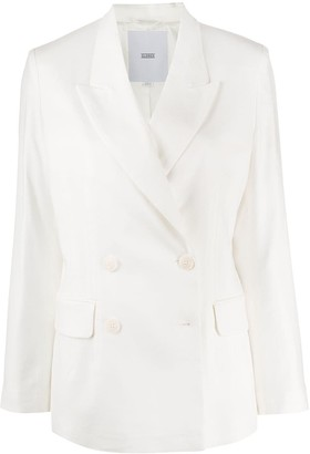 Closed Double-Breasted Blazer