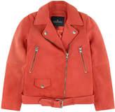 Little Remix Lambskin biker jacket