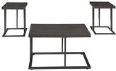 Signature Design by Ashley Airdon Three-Piece Table Set