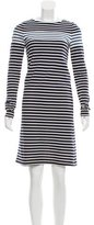 Derek Lam Striped Long Sleeve Dress