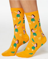 Hot Sox Women's Hula Girls Socks
