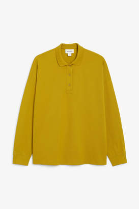 Monki Long sleeved polo shirt