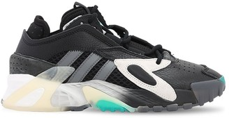 adidas STREETBALL LEATHER SNEAKERS