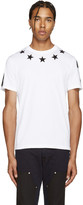 Givenchy White Stars T-Shirt