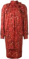 Nina Ricci Pre Owned high neck dress