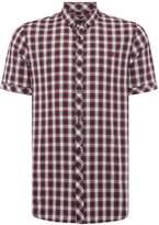 Fred Perry Men's Summer tartan short sleeve shirt