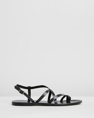 Atmos & Here Rita Leather Sandals