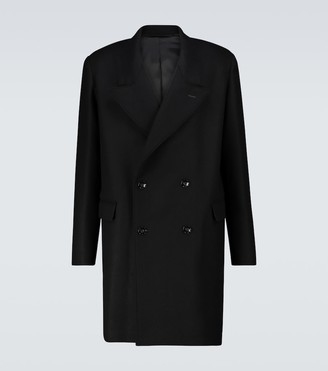 Lemaire Short double-breasted coat