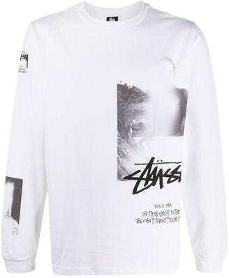 Stussy x MMW printed T-shirt