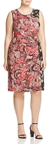 Nic And Zoe Plus Nic+Zoe Plus Etched Floral Dress