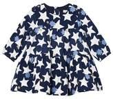 Catimini Navy Star Micro Cord Dress