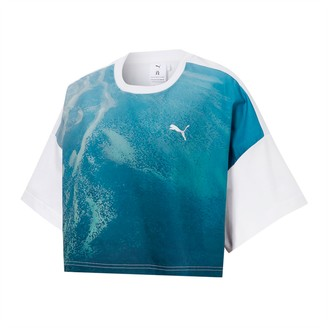 Puma x LIU WEN Women's Graphic Cropped Tee