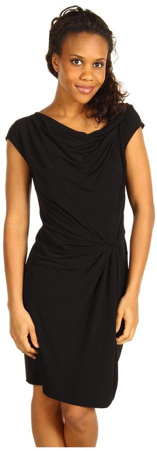 MICHAEL Michael Kors Cowl Twist Dress w/ Knot Front