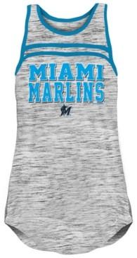 5th & Ocean Miami Marlins Women's Space Dye Tank