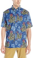 Reyn Spooner Men's Lehua Blossoms Button Down Shirt