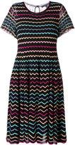 Marc Jacobs zigzag babydoll lace dress