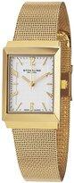 Stuhrling Original Women's 126L.12332 Classic Metropolis Prospect Quartz Silver Dial Ultra Slim Watch