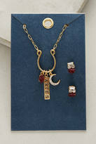 Anthropologie Zodiac Charm Jewelry Set