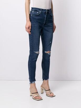 Rag & Bone Emory distressed skinny jeans