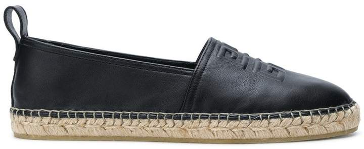 Givenchy embossed espadrilles