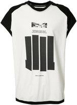 Niløs cap sleeve graphic T-shirt - men - Cotton - 2
