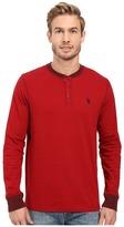 U.S. Polo Assn. Long Sleeve Henley Pullover