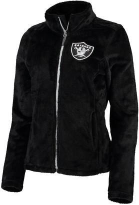 G Iii Women's G-III 4Her by Carl Banks Black Oakland Raiders Goal Line Full-Zip Jacket