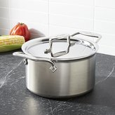 Crate & Barrel All-Clad ® d5 ® 4 qt. Soup Pot