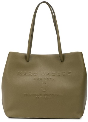 Marc Jacobs East-West logo shopper tote