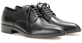 Gianvito Rossi Keaton Leather Derby Shoes