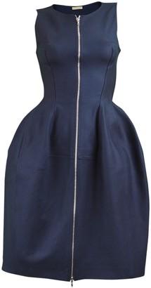 Alaia Blue Cotton Dress for Women